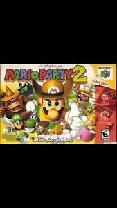 WANTED Mario Party 2 & 5