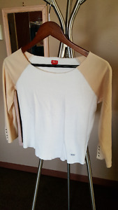 Esprit 3/4 sleeve baseball tee (cropped)