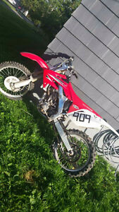 2009 Honda CRF250r dirt bike