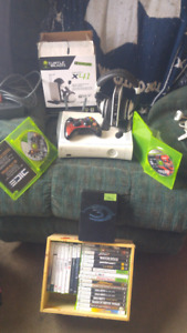 Xbox 360 headset an games