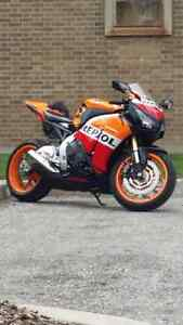 2013 CBR 1000RR  with 6500k ripsol
