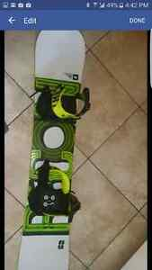 Fourm recon Board boots and bindings