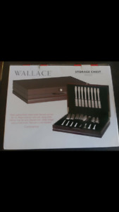 Wallace Flatware Chest in Service for 12