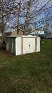 FREE Spacemaker Metal Garden Shed, 10 x 8-ft