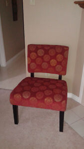 2 Jasmine accent Chairs-excellent condition. (paid 329.98)
