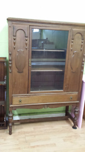 Antique china cabinet in excellent condition