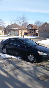 2003 Honda Accord. 210,000km $2000 or trade for boat