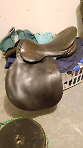 Quality cc English saddle