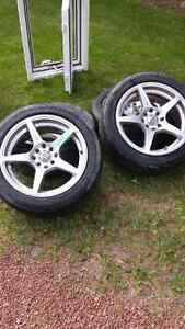 205 40 r16 rims and tires
