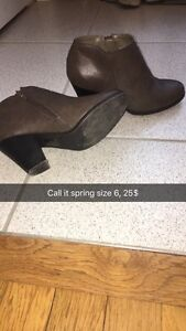 Womens boots size 6 and 7