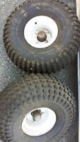 ATV Tires and Rims and Stub Axles
