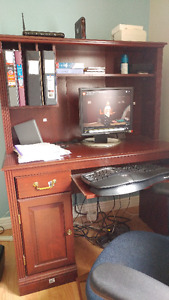 Computer desk, Chair, cofe Dining tabl, King bed, Free by 28 Jun