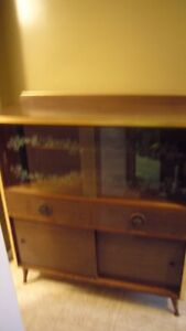2960's Retro China Cabinet|hutch|buffet|bookshelf|display unit