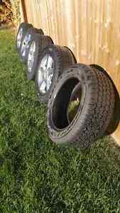 2011 Chevy Avalanche Spare tires and Wheels