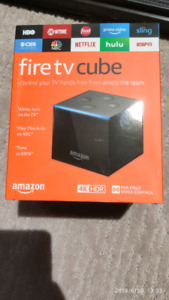 Amazon Fire TV Cube hands-free with Alexa and 4K Ultra HD box