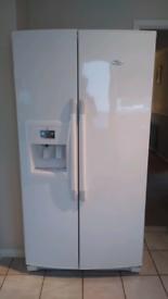 Whirlpool 6th Sense American style Fridge Freezer with Ice & Water