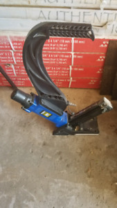 Floor Nailer Stapler 2in1