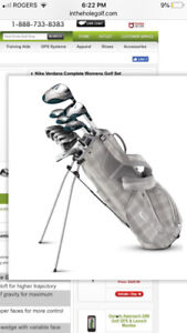 nike verdant complete set golf clubs!