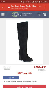 Brand new! Black boots. Size 6