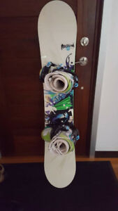 Snowboard with boots for sale