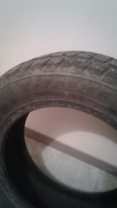 Four studded 195 60 R 15 winter tires