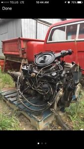 Chevy 250 6 cid, comes with the transmission