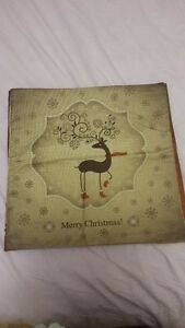 Brand new Linen Christmas Cushion covers