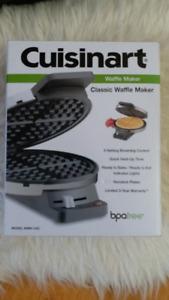 BNIB Cuisinart Waffle Maker