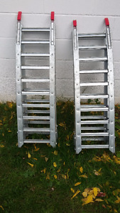 Pair of Folding Ramps with 1400lbs capacity