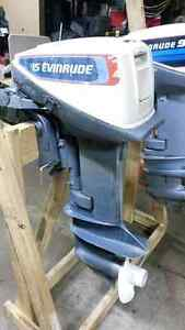 Selling 15 hp Evinrude Short shaft
