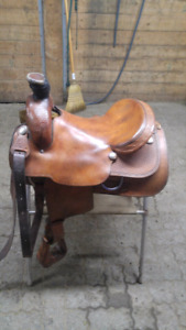 16 inch Western Roping Saddle