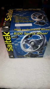 Pc Saitek Racing Wheel LNIB