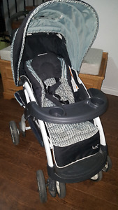 Evenflo Lux stroller with car seat and base