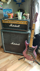 Marshall Amp & Vantage Avenger Electric Guitar