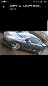 Peugeot 207cc hdi breaking for spares