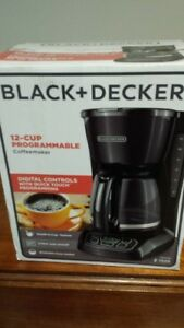 Coffee maker 12 cups Black&Decker