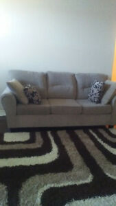 3 seat sofa,love seat, 1 year old MUST GO.PRICE REDUCED