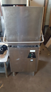 hobart dishwasher steam tables