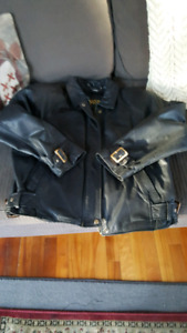 Women's Daniel Leather Motorcycle Jacket