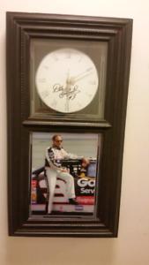Very rare dale earnhardt clock