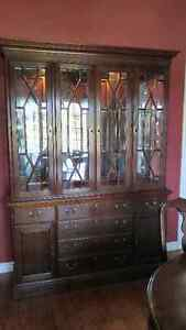 Dining table with cabinet/hutch London Ontario image 4