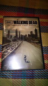$5 obo DVD The Walking Dead First Season 2 disc set