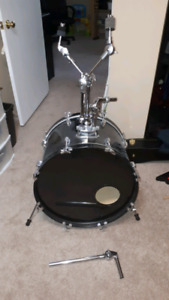 Unique Bass Drum with Cymbal Holders