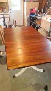 Stunning Drop Leaf Dining Room Table