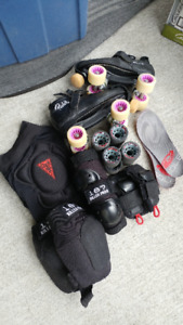 Adult Womens Derby Gear - Entire set together.