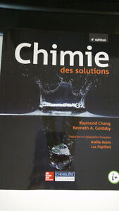 Chimie des solutions CHM1963