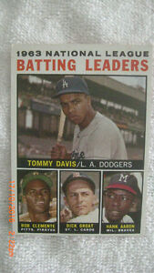 1963 National League Batting Leaders Topps #7