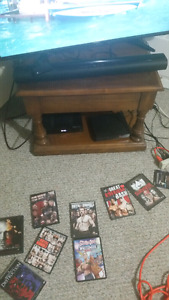 I have dvd player for sale and wwe dvds for sale