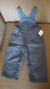MEC Toddlers Tucker Overalls - Size 24 Months - New with Tag