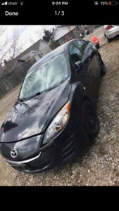 2010 MAZDA 3 FOR SALE FOR PARTS OR FIX NEEDS ENGINE